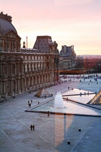 Paris Sunset from the Louvre window | Inspiration DE