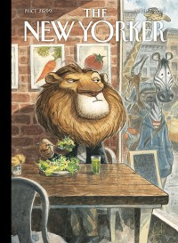 "Illustration & Painting / The New Yorker, Cover - ""A New Leaf\"" by Peter de Sève"