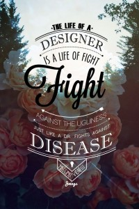Fight On | Design | Inspiration DE