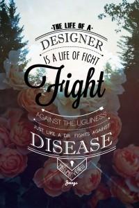 Fight On | Design | Inspiration DE