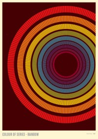 Beautiful Things: Colour of Series — Rainbow by Simon C Page | Really Simple Works