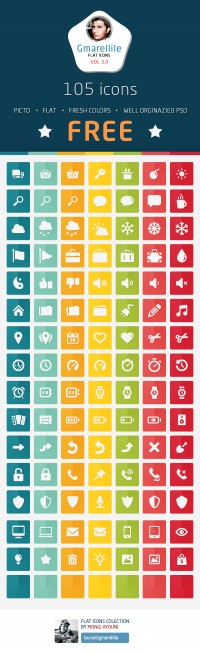 105 free flat icons - Gmarellile on