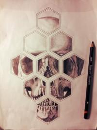 Skull tattoo design. | Inspiration DE
