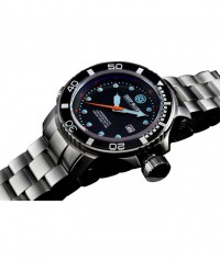 DEEP BLUE JUGGERNAUT II AUTO DIVING WATCH 1000mWR SAPPHIRE BEZEL BLACK DIAL - JUGGERNAUT II 1000M WR - DEEP BLUE