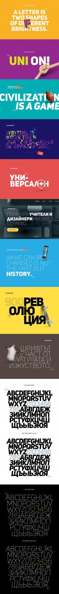 Uni Sans - Free Font - FreebiesXpress