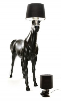 Horse and rabbit lamps - Front for Moooi | Design.org