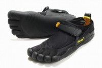 5 fingers kso black barefoot running shoes for male