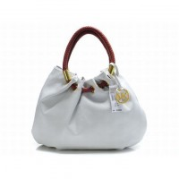 Michael Kors Ring Tote White Bags Skorpios Ladies