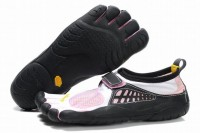 white/pink/black 5 fingers kso bare foot sneakers for women