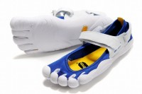 barefoot running 5 fingers sprint varsity royal blue/yellow/white