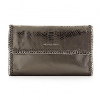MICHAEL Michael Kors Bags Oversize Chelsea Python-Embossed Clutch