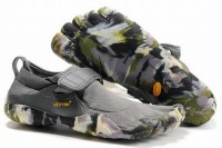 5 fingers kso grey/camo barefoot running sneakers for male