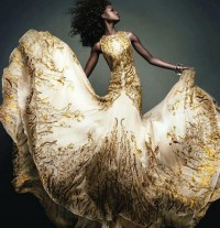 Golden Growing Dress | Design.org