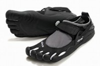 5 fingers kso black/white running sneakers for male