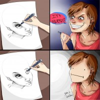 Drawing two eyes never had been so hard. by SamEvilconCarne | Inspiration DE