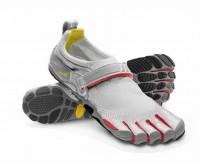 vibram bikila shoes grey red for men