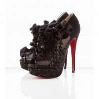 margot 150mm red bottom louboutin ankle boots black