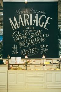 MARIAGE Chalk Lettering | Inspiration DE