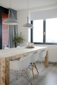 The home of Karlijn and Pieter - Contemporary - Dining Room - Amsterdam - Holly Marder