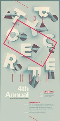 Typeforce 4 Submission Graphic | Inspiration DE