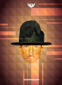 Pharrell Williams Geometric | Inspiration DE