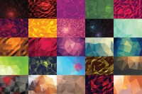 51 Vector Geometric Backgrounds V.4 ~ Patterns on Creative Market