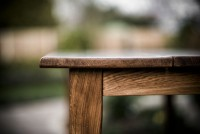 English Oak Dining Table on
