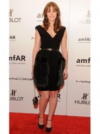 Leighton Meester in Louis Vuitton at the amfAR New York Gala To Kick Off Fall 2012 Fashion Week: Style: teenvogue.com