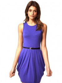 ASOS Tulip Dress With Belt: Jewel Tone Dresses for Prom: Style: teenvogue.com