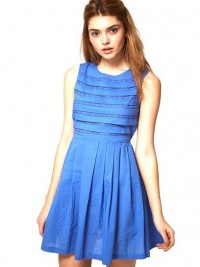 ASOS Summer Dress with Pleated Lace Bodice: Jewel Tone Dresses for Prom: Style: teenvogue.com
