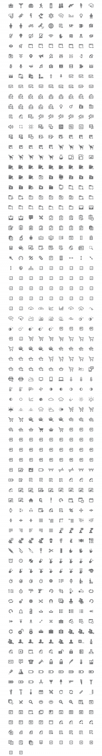 Iconify: 650+ Pixel-Perfect Icons | Inspiration DE