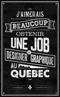 Un Graphiste Au Québec on
