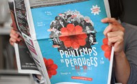 Spring Festival of Pérouges - Brand identity on