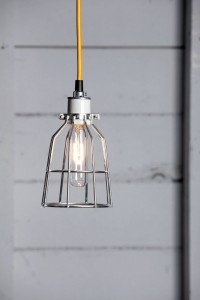 Cage Light Pendant - Metal Cage Lamp | Industrial Light Electric hand crafted lighting, made to order, Industrial Modern Lighting, Vintage Industrial Style Lights with a Modern Design