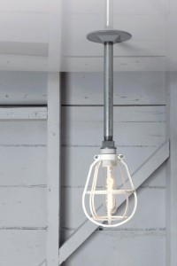Pendant Cage Pipe Light | Industrial Light Electric hand crafted lighting, made to order, Industrial Modern Lighting, Vintage Industrial Style Lights with a Modern Design