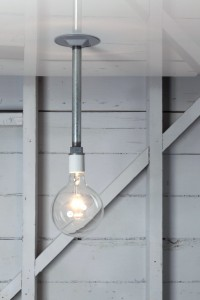 Pendant Pipe Light - Bare Bulb Lamp | Industrial Light Electric hand crafted lighting, made to order, Industrial Modern Lighting, Vintage Industrial Style Lights with a Modern Design