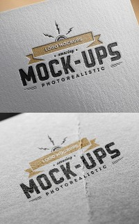 Logo MockUps – Paper Edition | Inspiration DE
