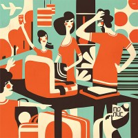 illustrations / july-september 08