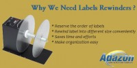 AdazonUSA | Barcode Shipiing Zebra Label Printers | Label Rewinders