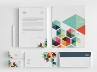 Stationery / Business Colorful Stationery