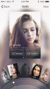 Profile Card by JOMMANS | Inspiration DE