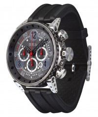 BRM RACING WATCH V18-44 PISTON CASE CARBON DIAL TITANIUM CASE V18-48-TN-CAP-ARN - V18-48 - BRM