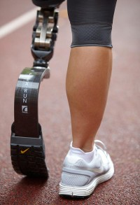 Nike Sole Prosthetic Running Shoe