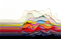 Transfixing 3D Paper Patterns by Maud Vantours | Colossal
