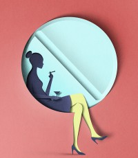 Digital Papercut Illustrations by Eiko Ojala | Colossal