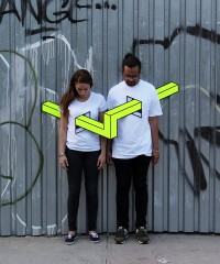People Skewered with Geometric Shapes by Aakash Nihalani | Colossal