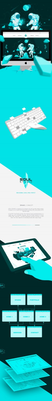 Soul Studio | Web Design on