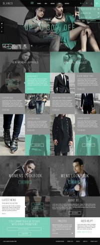 Blanco Fashion Store on Web Design Served
