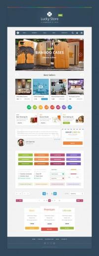Lucky Store - eCommerce UI Kit - FreebiesXpress