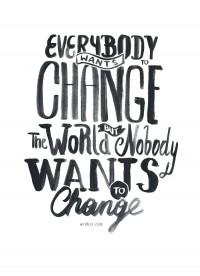 Change by WRDBNR   Inspiration DE